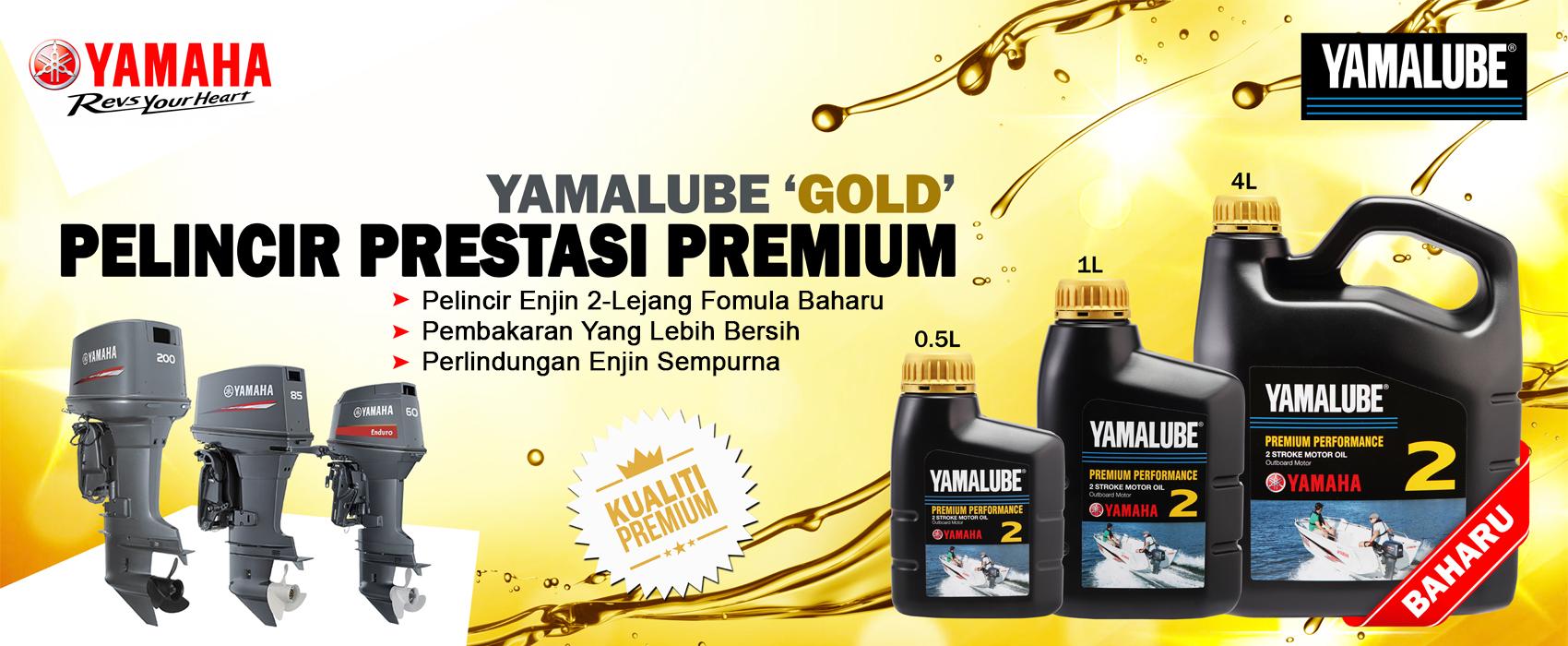 Web Bnner – Yamalube Gold
